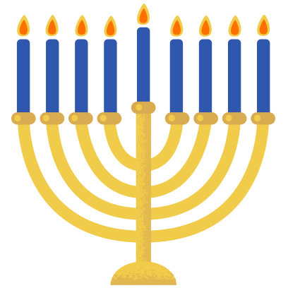 Hanukkah Smiles messages sticker-0