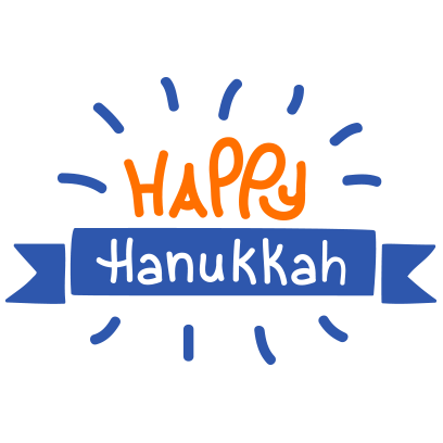 Hanukkah Smiles messages sticker-4