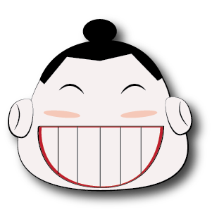 Sumo Stickers - emoji for iMessage messages sticker-4