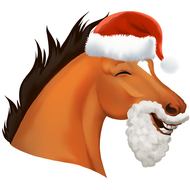 Star Stable Christmas Stickers messages sticker-7