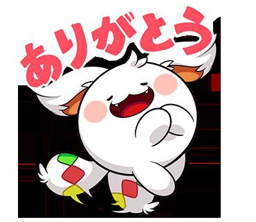 ポコダンステッカー messages sticker-3