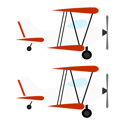 Twin Planes messages sticker-1
