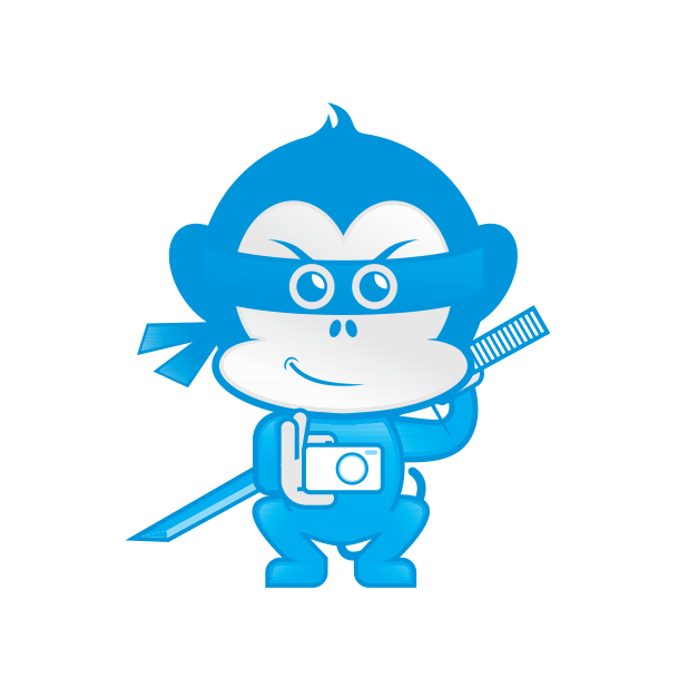 Ninja Monkey Media messages sticker-3