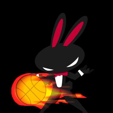 Morfei Rabbit-Cool Stickers messages sticker-8