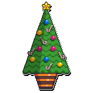 Merry Pixel Stickers messages sticker-3
