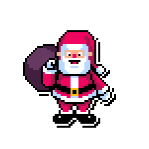 Merry Pixel Stickers messages sticker-4