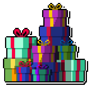 Merry Pixel Stickers messages sticker-6