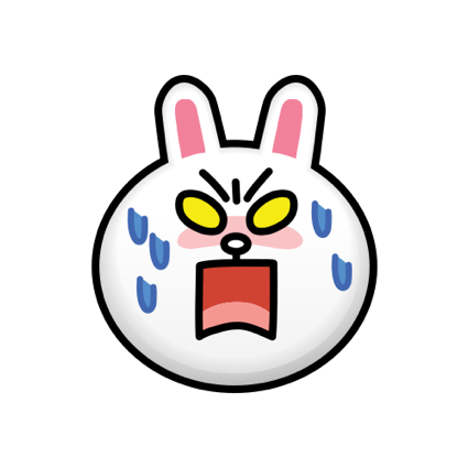 BROWN & CONY Emoji Stickers - LINE FRIENDS messages sticker-10
