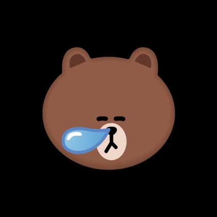 BROWN & CONY Emoji Stickers - LINE FRIENDS messages sticker-4