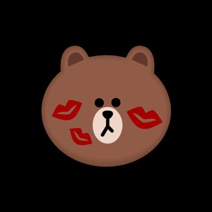BROWN & CONY Emoji Stickers - LINE FRIENDS messages sticker-8