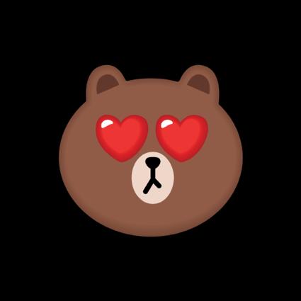 BROWN & CONY Emoji Stickers - LINE FRIENDS messages sticker-2