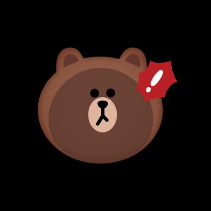 BROWN & CONY Emoji Stickers - LINE FRIENDS messages sticker-3