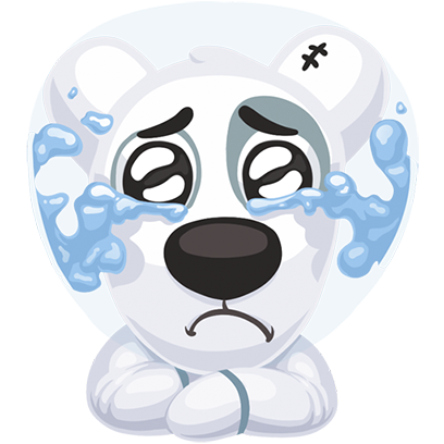 Puppy In Space Stickers Pack for iMessage messages sticker-5