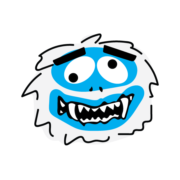 Abominable Monster messages sticker-2