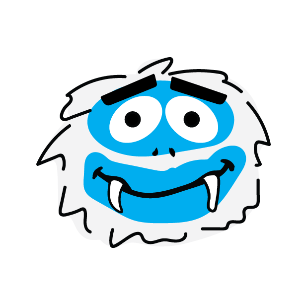 Abominable Monster messages sticker-1