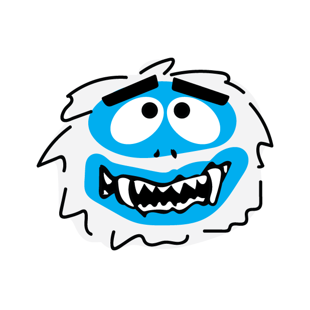 Abominable Monster messages sticker-0