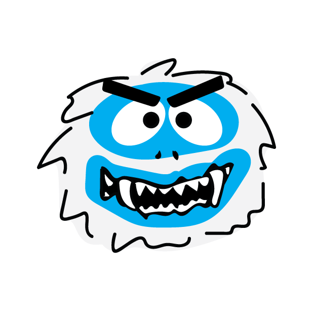 Abominable Monster messages sticker-5