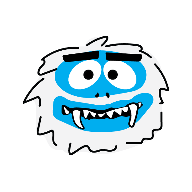Abominable Monster messages sticker-3