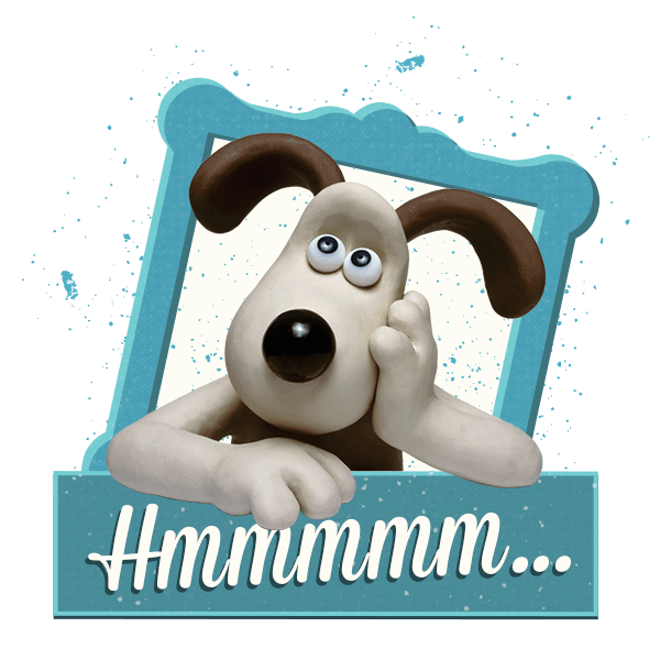 Wallace and Gromit Stickers messages sticker-6