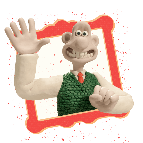 Wallace and Gromit Stickers messages sticker-9