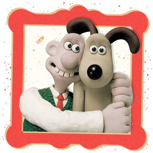 Wallace and Gromit Stickers messages sticker-0