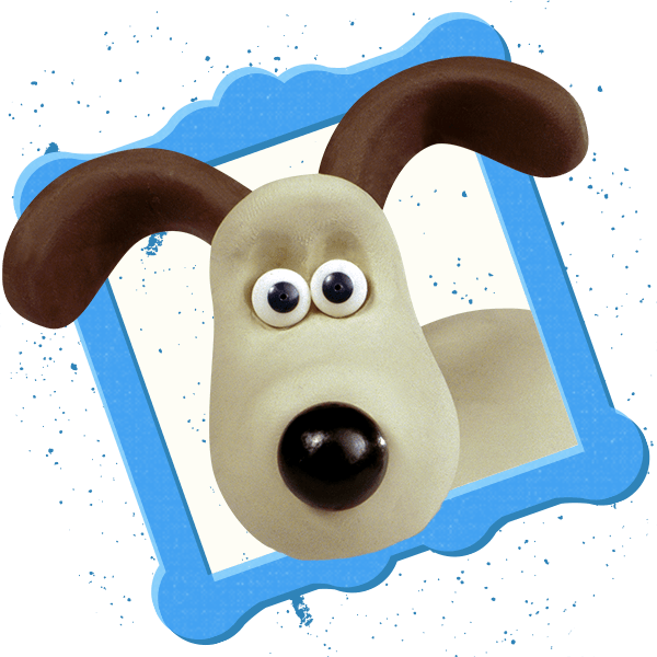 Wallace and Gromit Stickers messages sticker-3