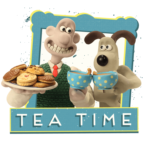 Wallace and Gromit Stickers messages sticker-4