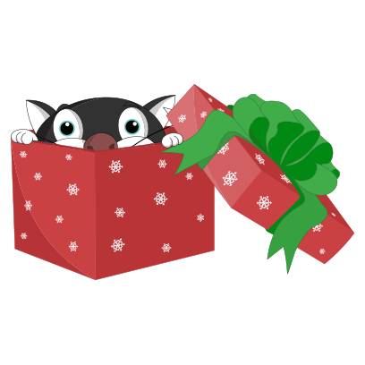 Silly Darn Cat (Christmas) messages sticker-7
