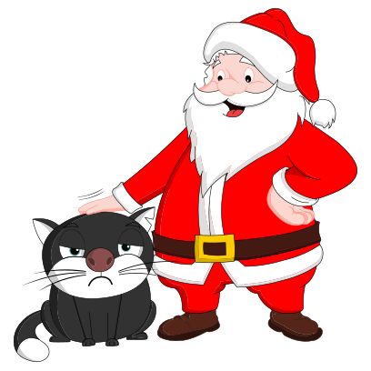 Silly Darn Cat (Christmas) messages sticker-9