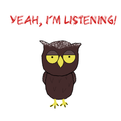 Sweet Owl Stickers messages sticker-10