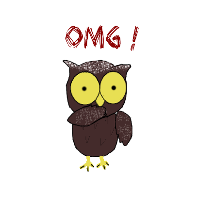 Sweet Owl Stickers messages sticker-6