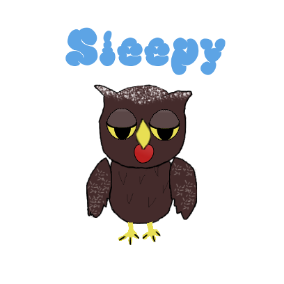 Sweet Owl Stickers messages sticker-9