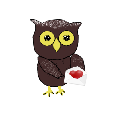 Sweet Owl Stickers messages sticker-3