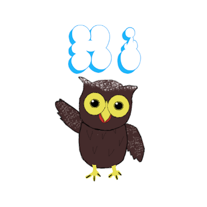 Sweet Owl Stickers messages sticker-0
