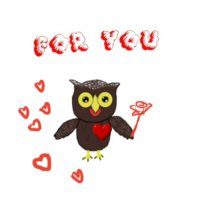 Sweet Owl Stickers messages sticker-5