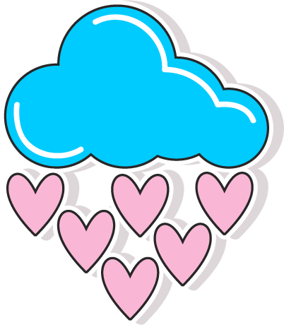 80s Love Stickers Pack for iMessage messages sticker-9
