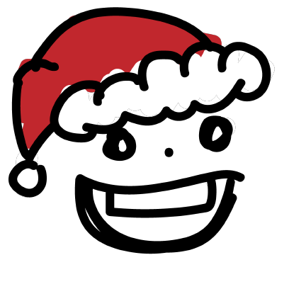 Simple Christmas Emoji messages sticker-0