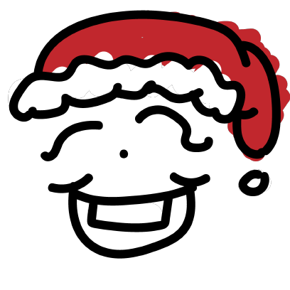 Simple Christmas Emoji messages sticker-1