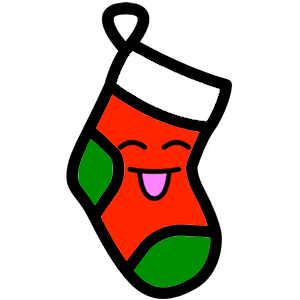 Stocklings: Christmas Stocking Kawaii Emoji messages sticker-8