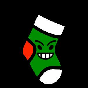 Stocklings: Christmas Stocking Kawaii Emoji messages sticker-5