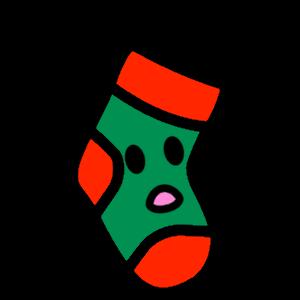 Stocklings: Christmas Stocking Kawaii Emoji messages sticker-11