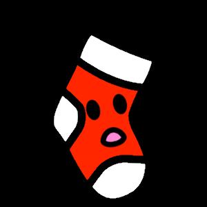 Stocklings: Christmas Stocking Kawaii Emoji messages sticker-10