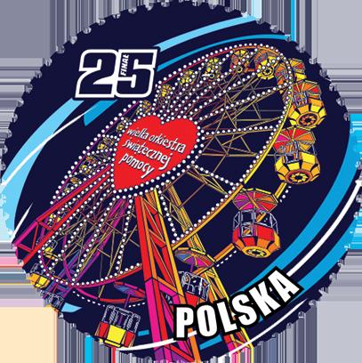 Znaczki WOŚP 25 lat messages sticker-9