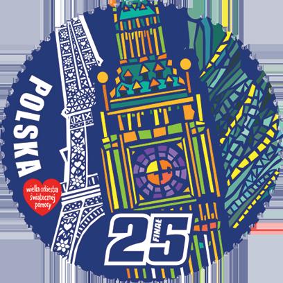 Znaczki WOŚP 25 lat messages sticker-11