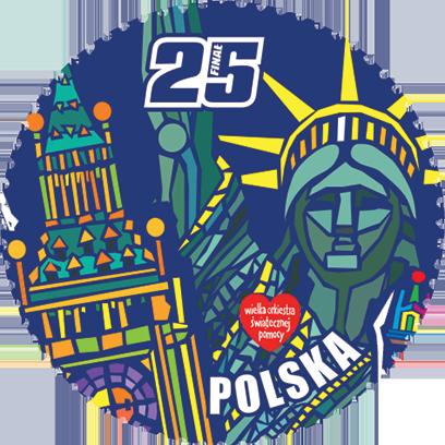 Znaczki WOŚP 25 lat messages sticker-10