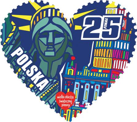 Znaczki WOŚP 25 lat messages sticker-6