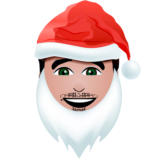 Chris Young Holiday Emojis messages sticker-9