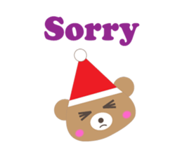Pleasant Santa Claus Sticker messages sticker-5
