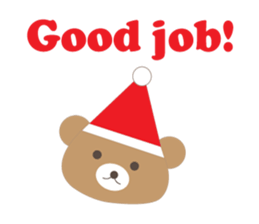 Pleasant Santa Claus Sticker messages sticker-7