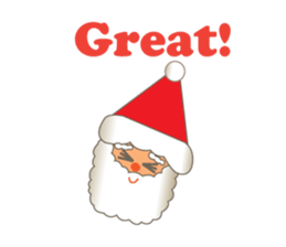 Pleasant Santa Claus Sticker messages sticker-8